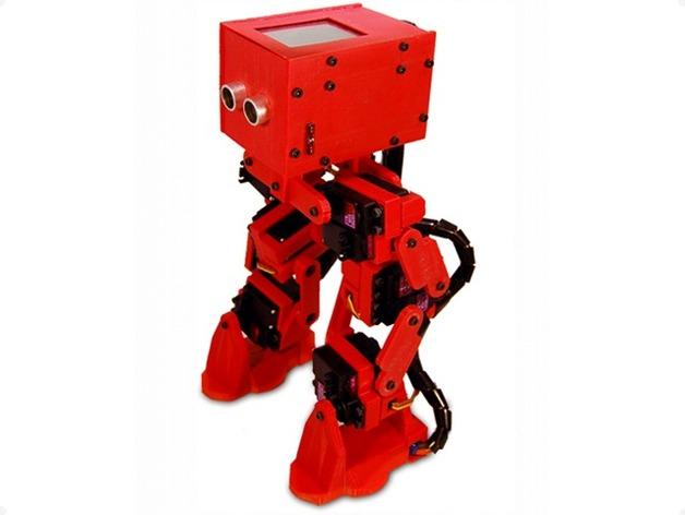 """雙足機器人""""rofi """"_stl_創意設計_3d模型_圖紙下載"""