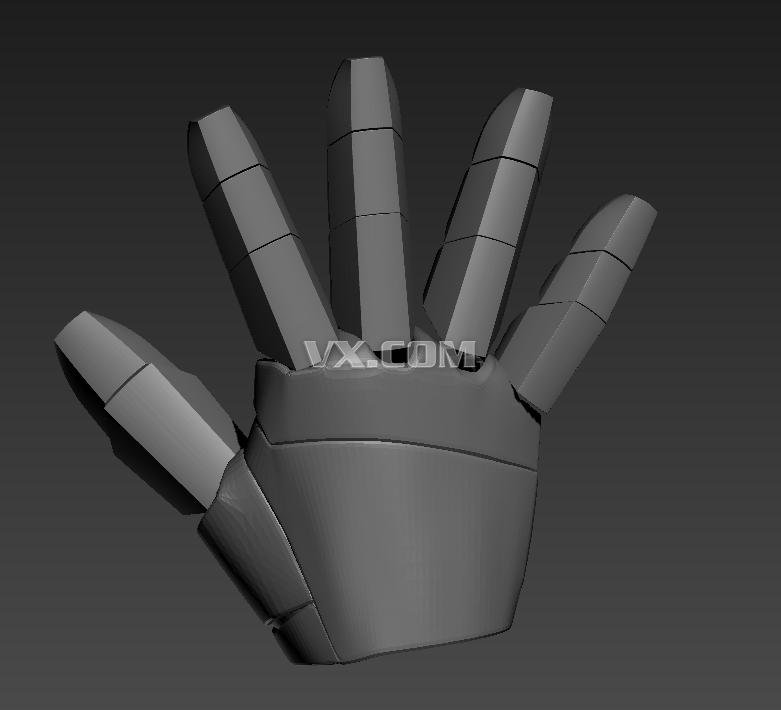 設計圖分享 鋼鐵俠手掌設計圖 > 聯盟創意3d壁燈-鋼鐵俠手  聯盟創意