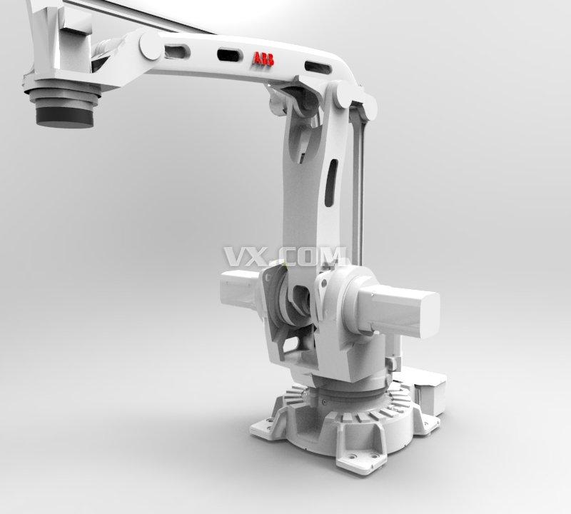 h abb机器人 工业机械臂 机械设计图纸资料 3d模型