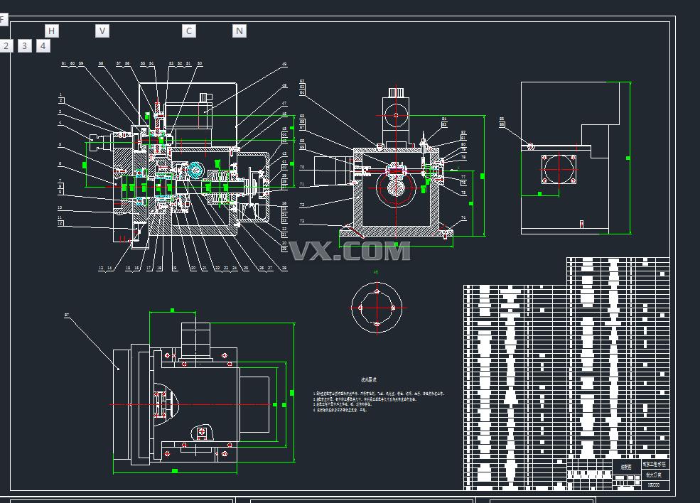 ck6130车削中心动力转塔刀架设计
