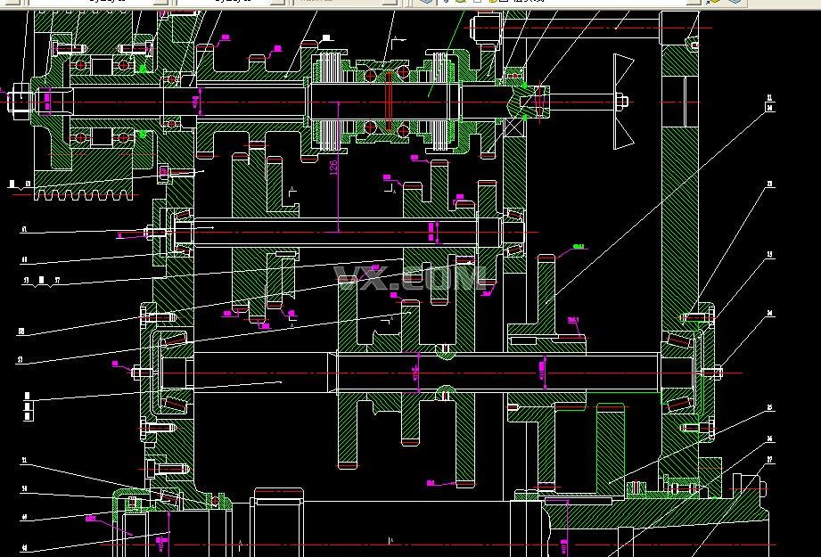 ca6140型车床主传动系统设计(机械课程设计)