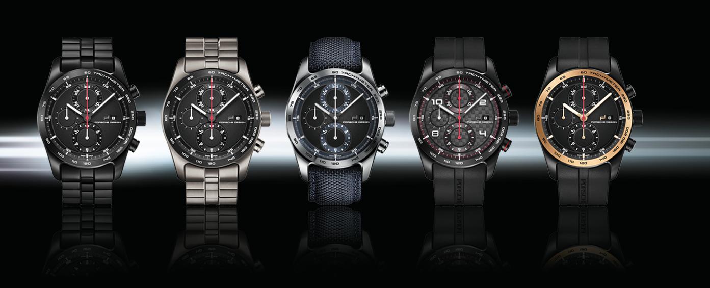 porsche design设计的男士手表图片