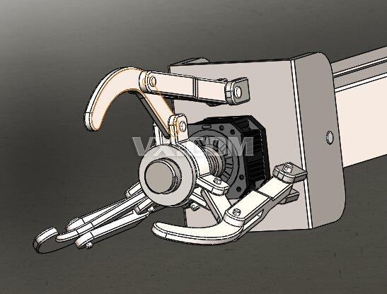 码垛机器人的结构设计(全套二维三维图纸)图片