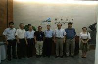 上海松江区区委携上海一汽领导参观考察上海联泰