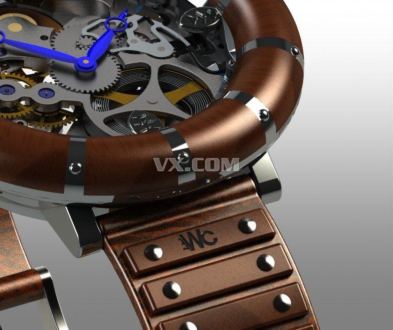机械手表内部结构构造