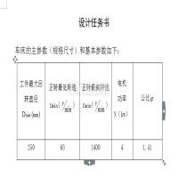 最大加工直径为250mm的普通车床的主轴箱部件设计[P=4kw 转速1400 63 公比1.41]