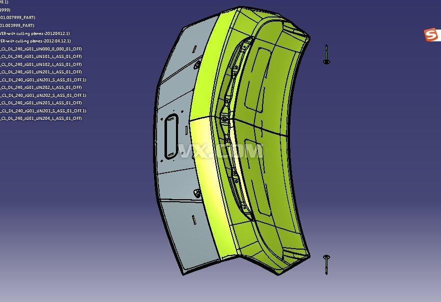 汽车行李箱后背盖夹具设计