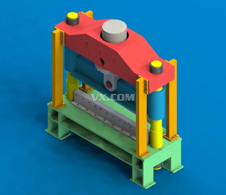 液压剪板机设计图纸