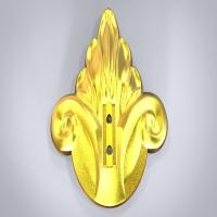 浮雕金属件2