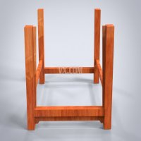 椅子管脚枨赶枨(前后低,两侧高)