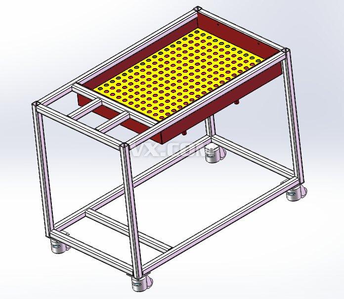 水箱测试台架_solidworks_机械设备_3d模型_图纸下载