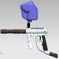 半自动PCP彩蛋玩具枪