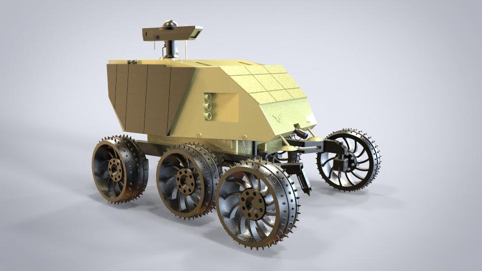 月球车,创意设计方案