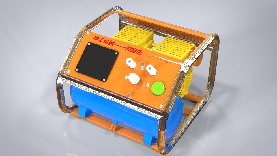 无油空压机,新型全静音绝无油,环保型空气压缩机