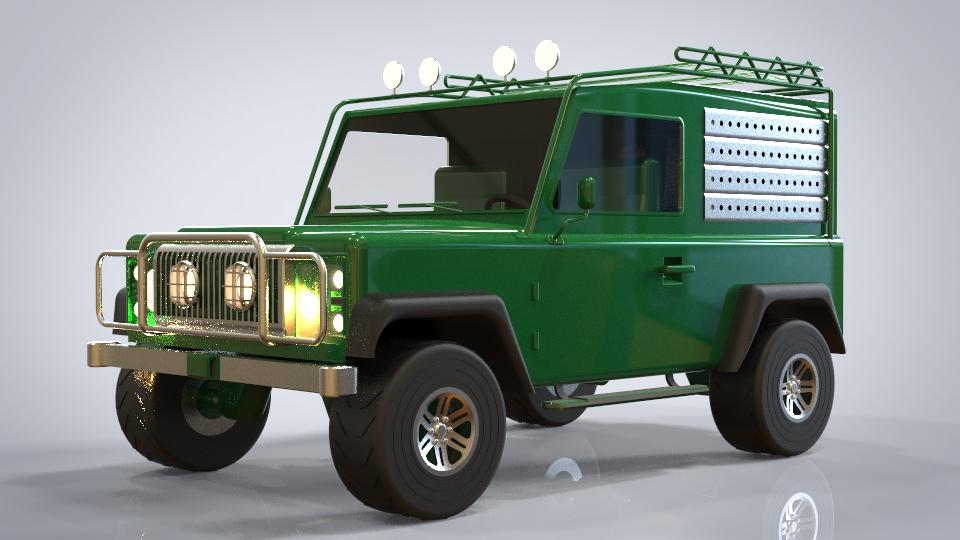 SUV模型,玩具车