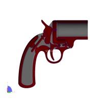 3D打印玩具枪