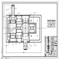 单级斜齿轮减速器装配图及零件图