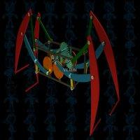 蜘蛛机器人设计模型
