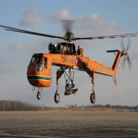 S-64直升机