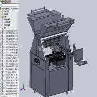 非标设备-自动连接器插入机设计模型