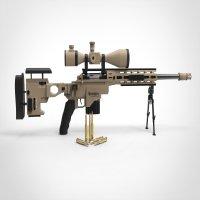 狙击枪 xm2010(内部结构详细)