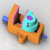 普通平口钳的设计(全套含CAD图纸、三维模型)