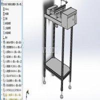 SMT 接驳台  ICT/FCT前接驳台 3D详细设计 SW源文件及STP通用格式