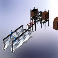 RO膜丝组件生产线