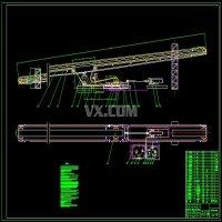 可伸缩带式输送机的机头设计(全套含CAD图纸)