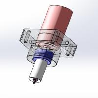 PCB板刻字划圆圈马达模组