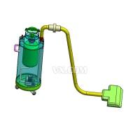 吸尘器时尚造型设计(全套含CAD图纸及三维模型)