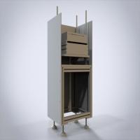 自动升降接驳台 3D详细设计 SW源文件及STP文档