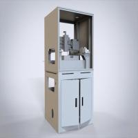 双层治具回流自动喷胶机  3D详细设计 SW源文件及STP文档