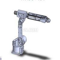 关节型机械手设计(全套电子版CAD及三维建模图纸)