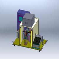 (全参数)Mini USB测试机3D模型图纸 Solidworks设计