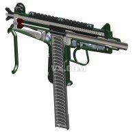 CBJ-MS冲锋枪造型设计