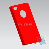 苹果4S手机保护壳注塑模具设计(全套含CAD图纸及三维模型)
