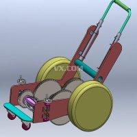 环保型剪草机设计【割草机含SOLIDWORKS】(含CAD图纸和说明书)