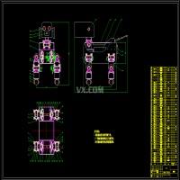 智能四足机器人结构设计(优秀含CAD图纸)