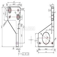 极限开关座机械加工工艺及铣削119.5底面夹具设计(全套含CAD图纸)