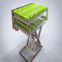 剪叉式输送设备-3D和二维图纸