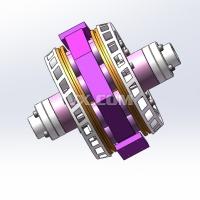 汽车缓速器设计及研究【电涡流缓速器全套含有CAD图纸三维建模】