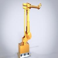 六轴关节机器人(三维和二维,可做毕业设计)