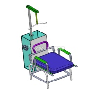 颈部康复拉伸机的设计【颈部康复机器人含SOLIDWORKS】(全套含CAD图纸)