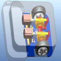 iRobot Braava 拖地机器人的设计与仿真【全套包含CAD图纸三维建模和说明书】