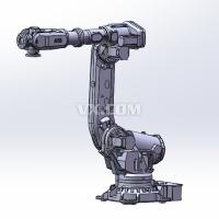 ABB六轴机器人带控制柜3D三维图纸