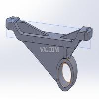 机油泵传动轴支架加工工艺及铣上平面夹具设计(全套含CAD图纸)