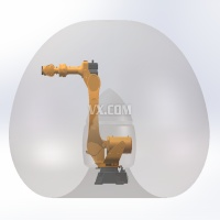 埃斯顿ER170外部模型 六轴机器人