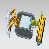 微型全自主扫雪机器人机械结构设计(全套含CAD图纸和三维模型)