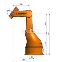 五轴焊接工业机器手 图纸